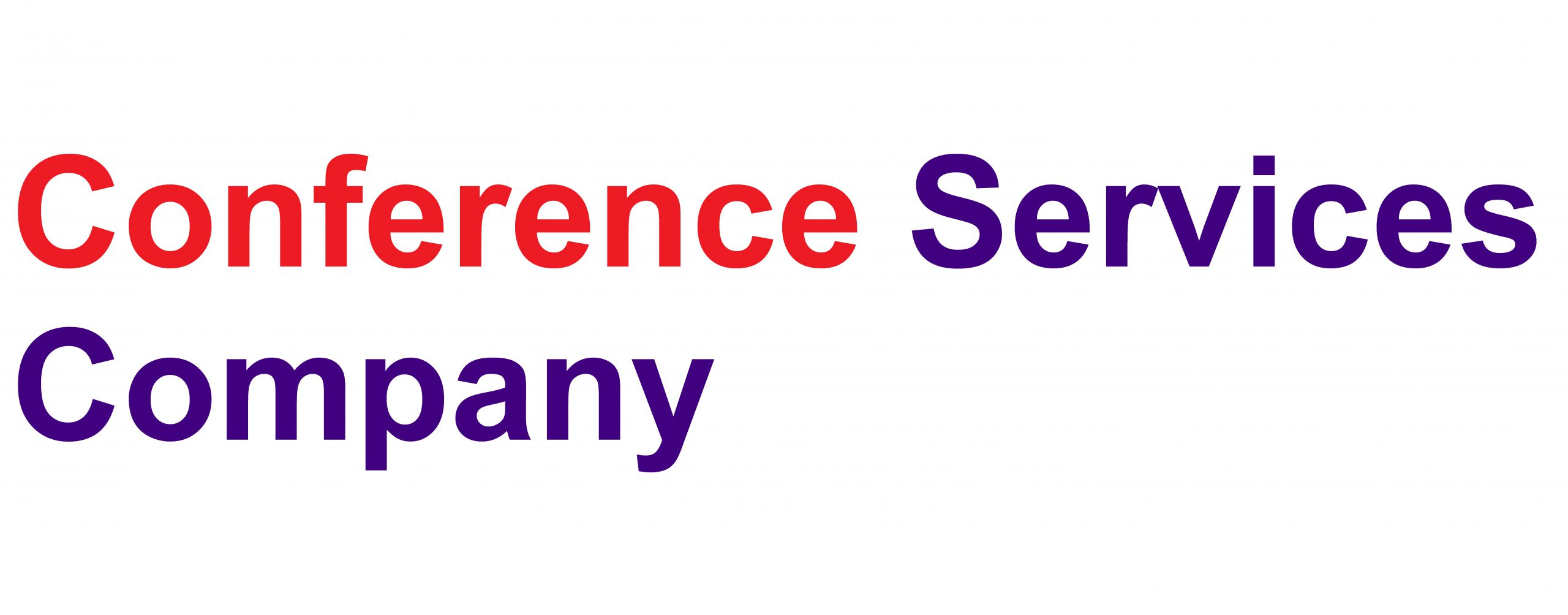 Conference Services Company