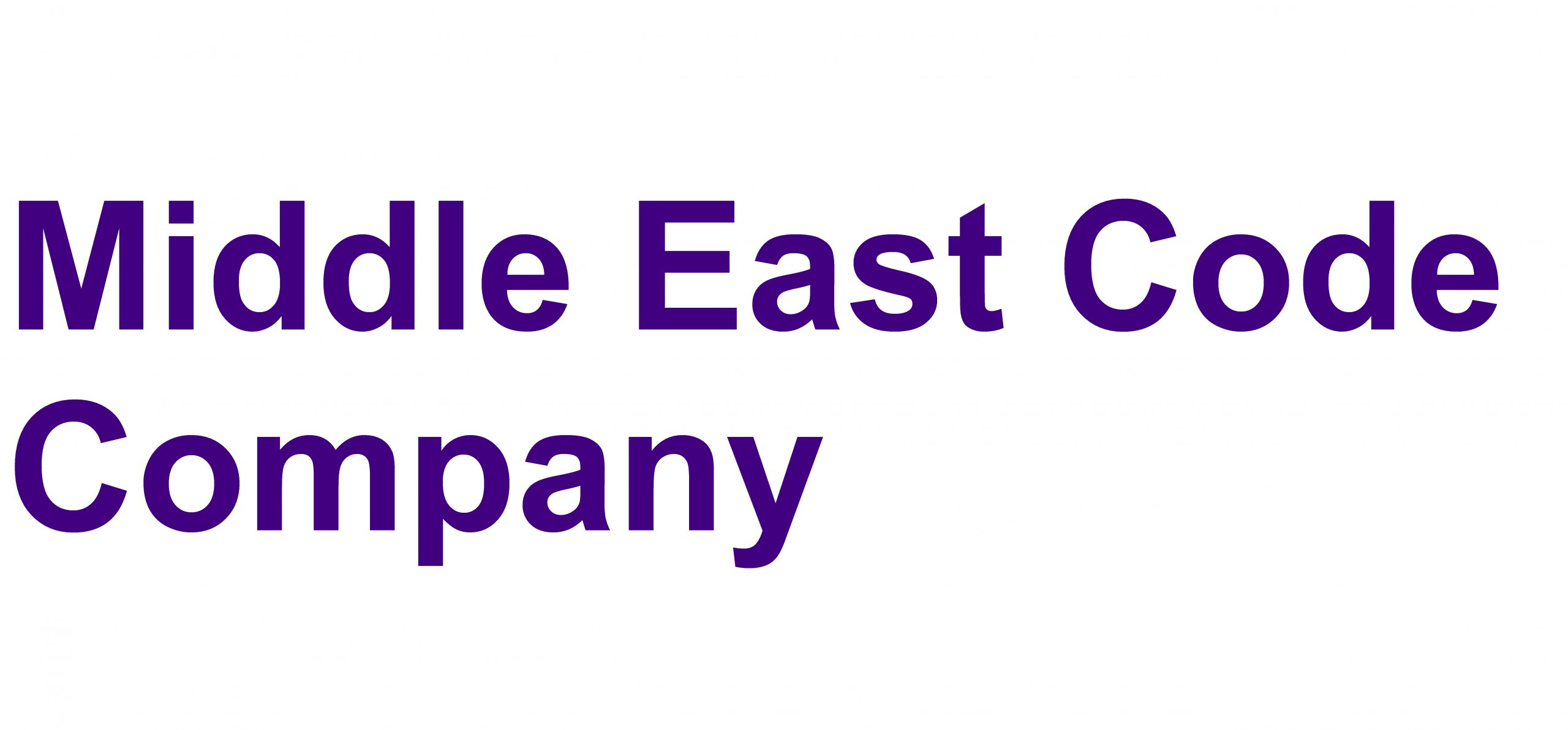 Middle East Code Company
